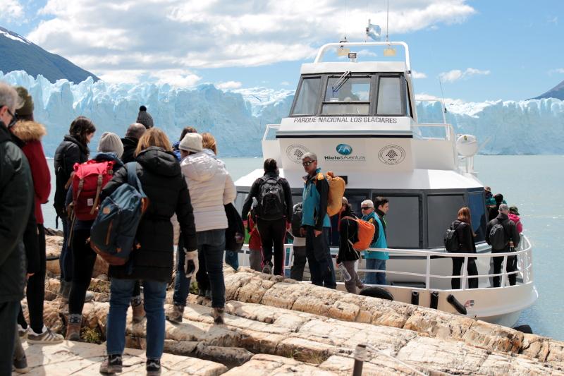Siga na Viagem - Minitrekking sobre o Glaciar Perito Moreno - Saída do Parque Los Glaciares