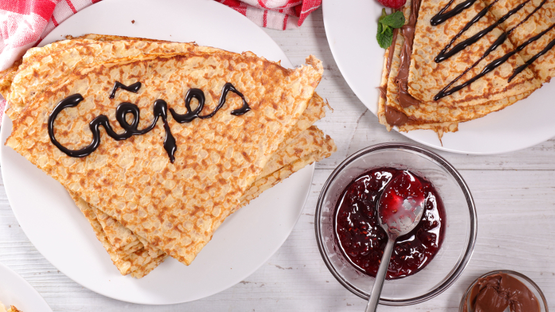 Festivais de Crepes e Brigadeiros no Club Homs - crédito Shutterstockepes