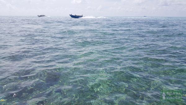 Siga na Viagem - O que fazer em Cartagena e San Andrés - Direção a Ilha Johnny Cay