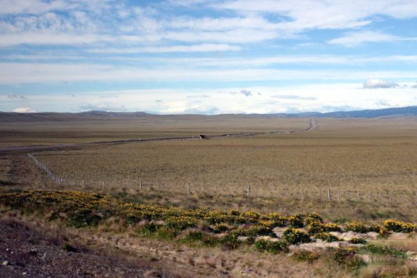 Siga na Viagem - Tour no Parque Nacional Torres Del Paine - Estrada