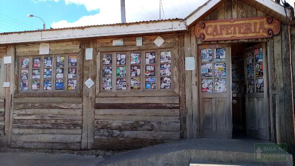 Siga na Viagem - Tour no Parque Nacional Torres Del Paine - Loja de artesanato.