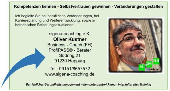 Coaching in Köln, Coaching in Nürnberg, Business-coaching, sigena-coaching