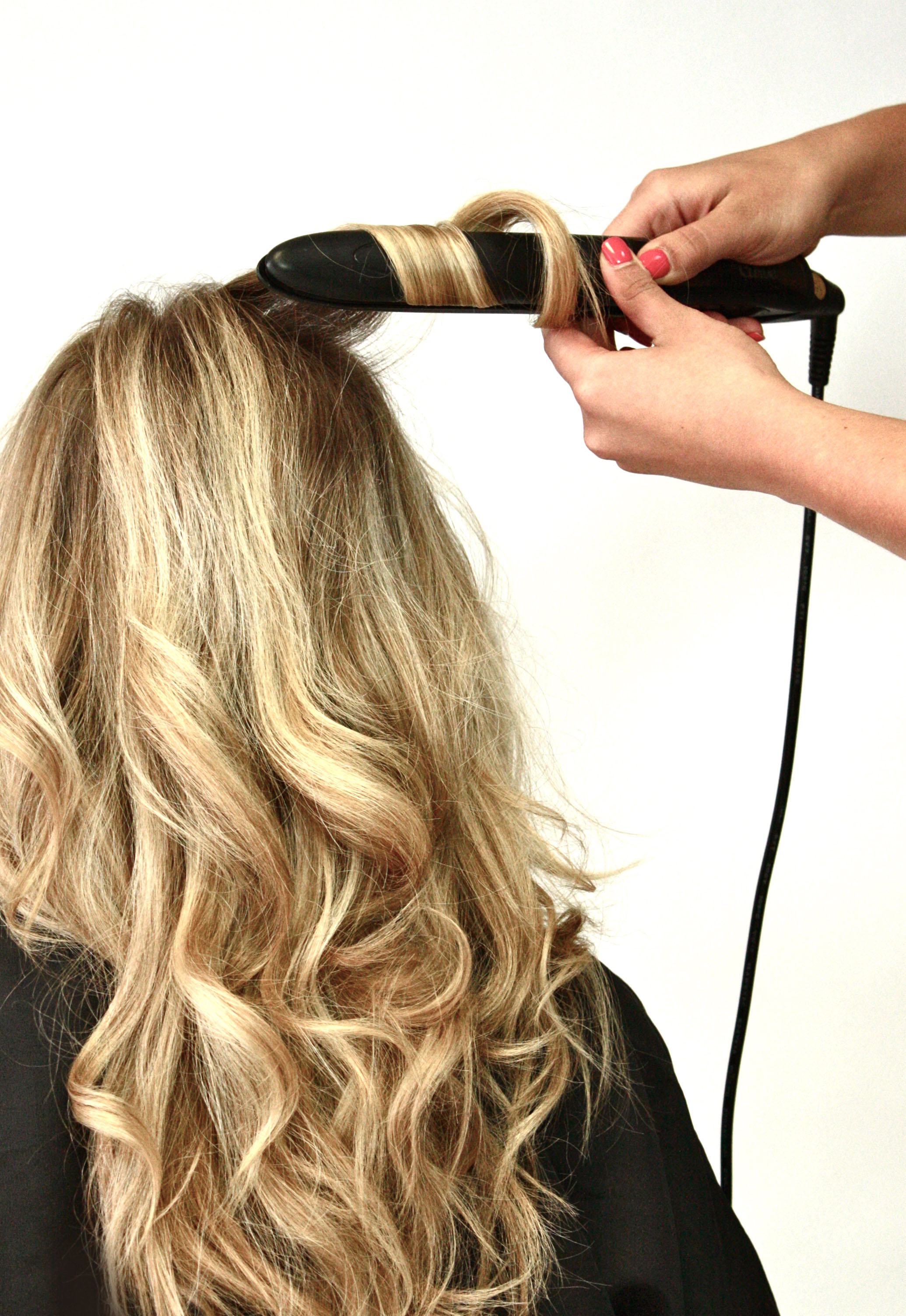 Curling With The Curve Flat Iron Siggershairdresserss Blog