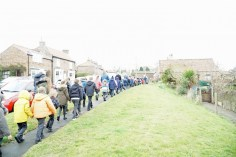 Sigglesthorne CofE Primary School Walking to Easter Service