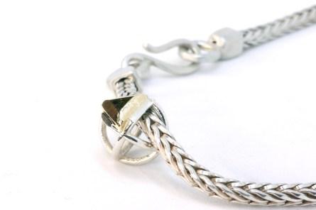 Halskette Fuchsschwanz Schmuckanfertigung Silber Goldschmied Düsseldorf