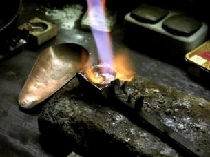 das Schmelzen der Metalle