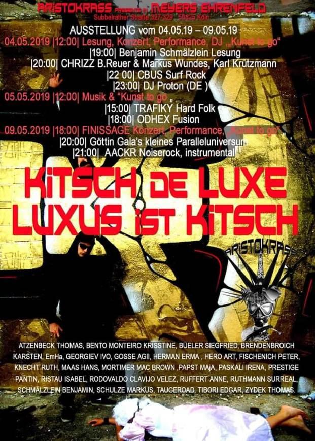 Kitsch-de-luxe Odhex live bei Aristokrass