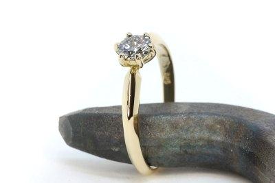 Verlobungsring Antragsring Diamantring Rheingold Schmuck Siggnatur Goldschmied Duesseldorf