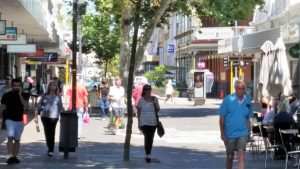 The High Street Mall is a short walk from Numero Siete de Bannister Fremantle