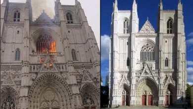 Photo of Focul de la Catedrala din Nantes a fost pus intenționat!