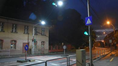 Photo of Reflectoare LED  la trecerile de pietoni din municipiu .