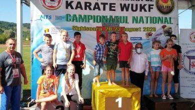 Photo of 23 de medalii pentru karateka sighișoreni