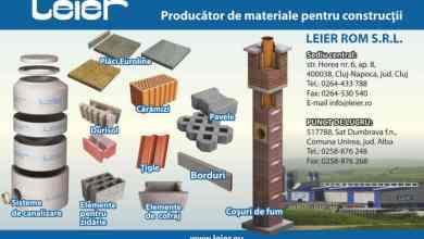 Photo of Leier anunţă investiţii cumulate de peste 25 milioane euro în România. Două fabrici de betoane vor fi deschise anul viitor în judeţele Cluj şi Arad