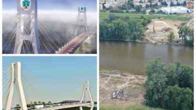 Photo of Podul spectaculos care se construieste la Satu Mare peste raul Somes. Are 640 de metri lungime