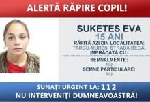 Photo of Fata răpită în Târgu Mureș a fost găsită!