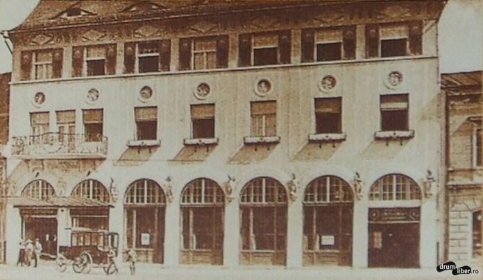 Hotelul și restaurantul Steaua – 1913