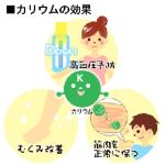カリウム サプリ 高血圧対策のすすめ!役割・効果・食材・サプリ紹介!
