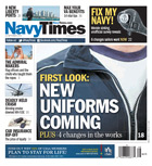 Navy Times Cover