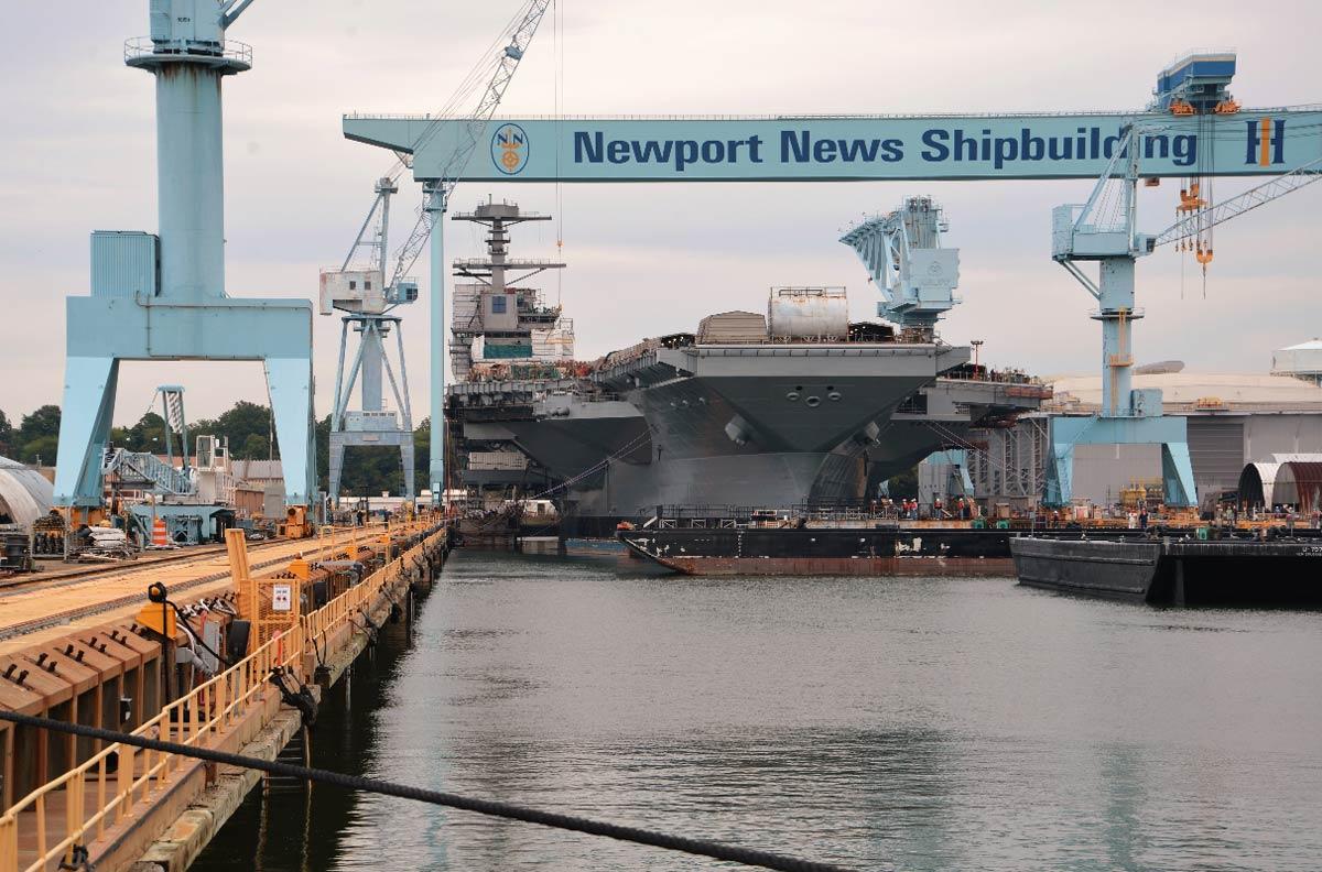 NAV USS Gerald R Ford