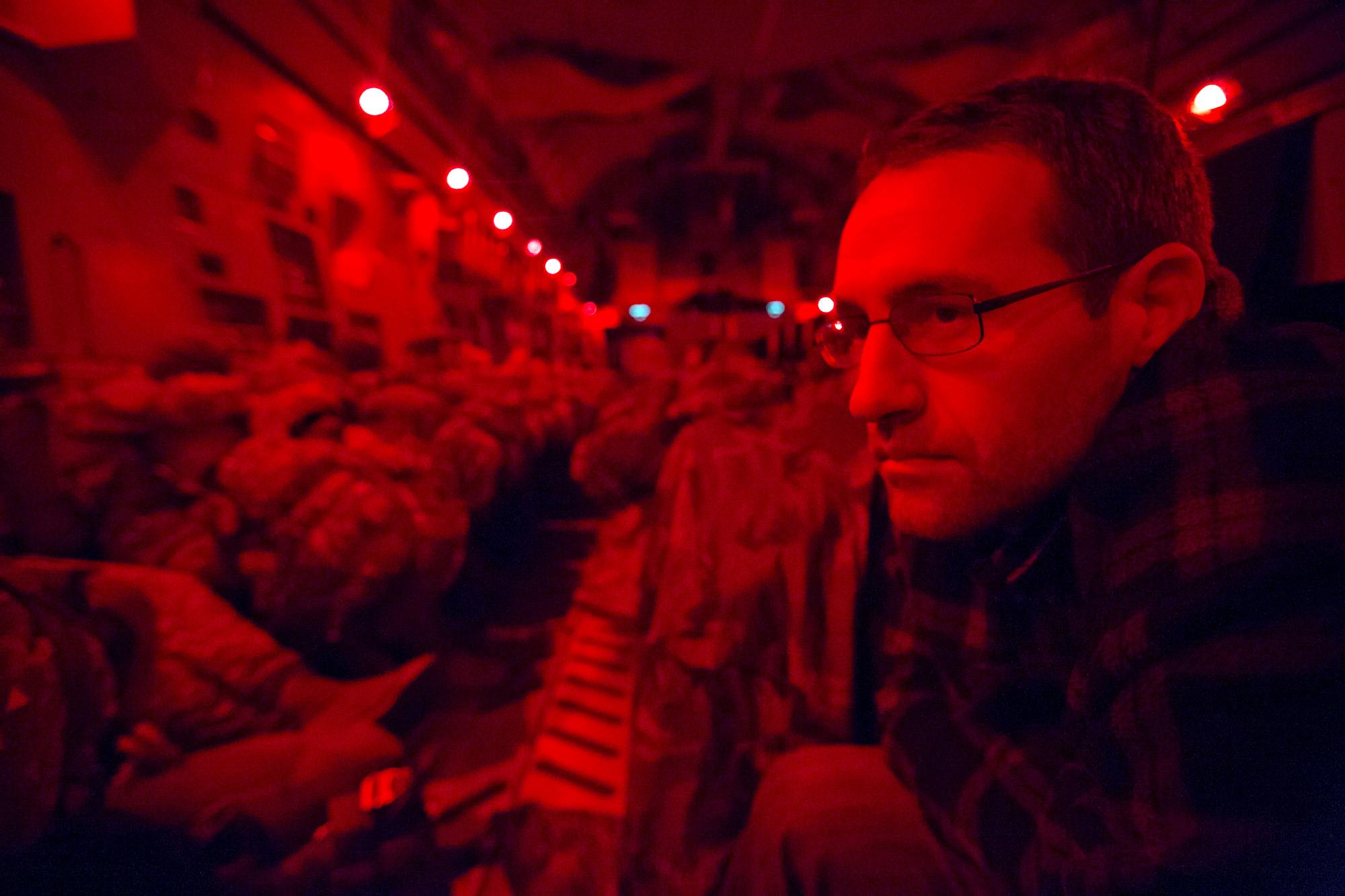 Daniel at Exercise Trident Juncture Nov. 6, 2015 near Zaragoza Spain. (Daniel Woolfolk/Staff)