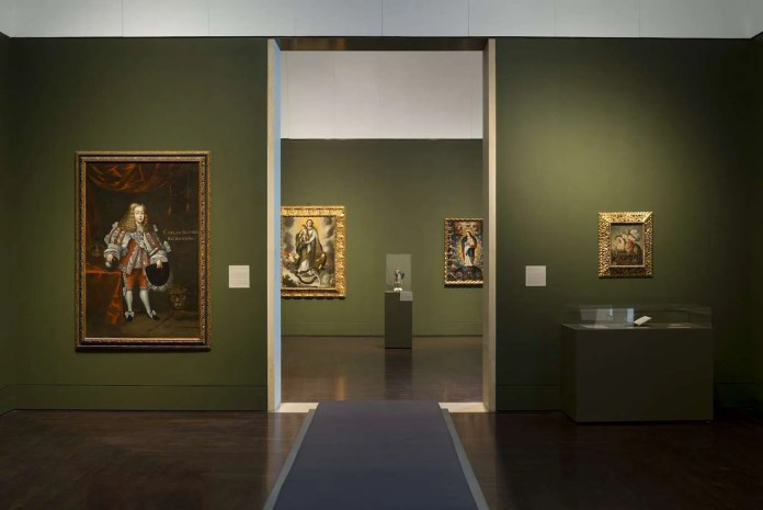 Installation View of Art of the Spanish Americas galleries