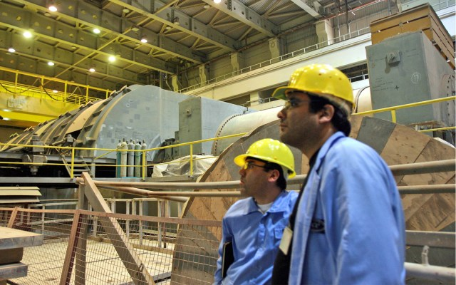 Construction of two new Iranian nuclear plants going well, atomic chief says
