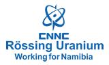 Continued mining operations at Rössing Uranium Mine