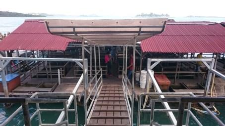 Barelang Seafood - The walk down
