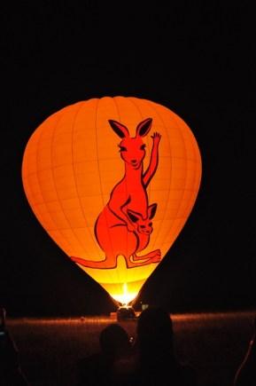 11Mar13: Waiting for my first Hot Air Balloon ride