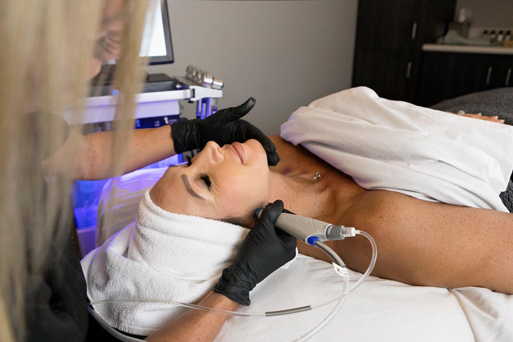 acacia spa springfield missouri woman facial hydrofacial