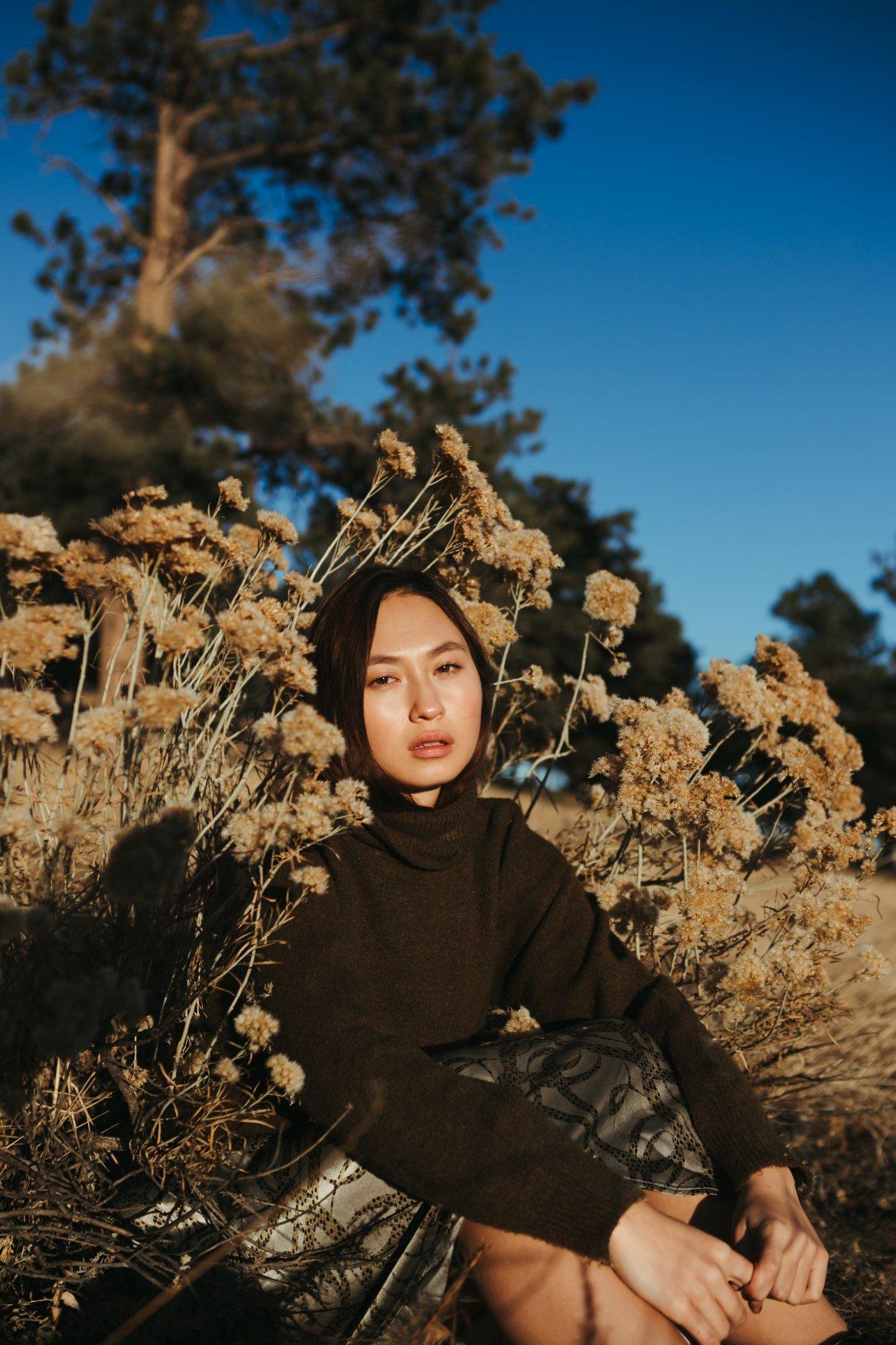 denver colorado fashion editorial photography green contemporary