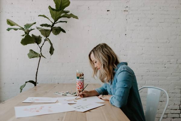 springfield missouri lifestyle watercolor studio painting artist
