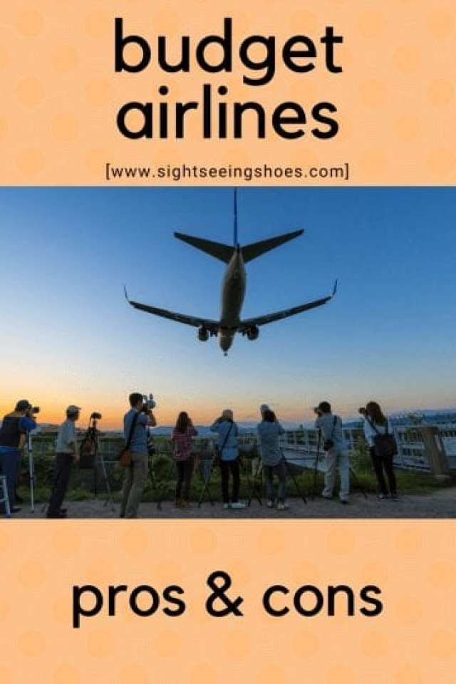 budget airlines: pros and cons