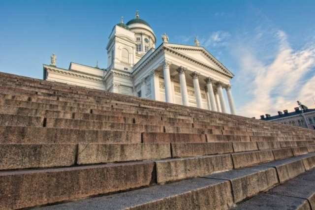 Helsinki cathedral - must see sights in Helsinki