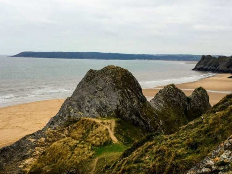 3 Cliffs Bay, Gower Peninsula, Wales
