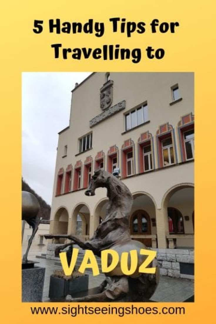 5 Handy Tips for Travelling to VADUZ