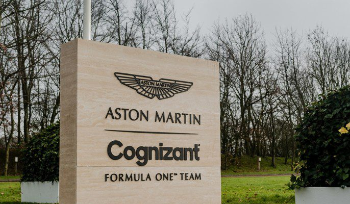 Aston Martin returns and merges with Cognizant as a partner, Aston Martin Cognizant Formula One™