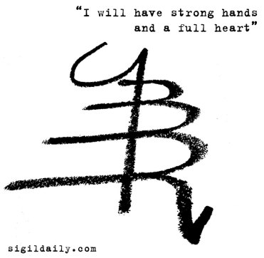 """""""I will have strong hands and a full heart"""""""