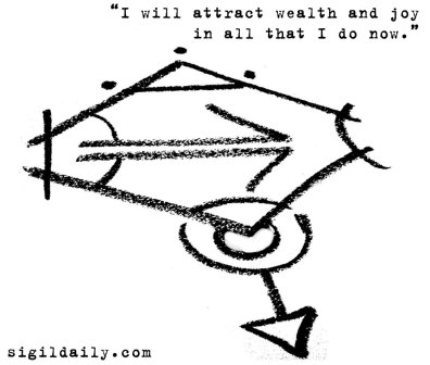 """I will attract wealth and joy in all that I do now."""