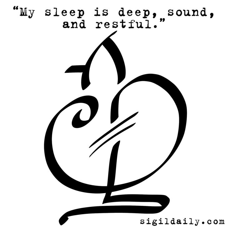 Sigil-MySleepIsDeep