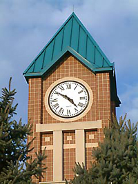 Borough Hall clock tower