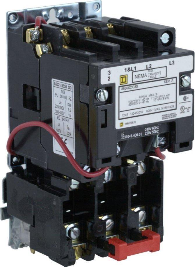 diagram square d 8536 motor starter wiring diagram full