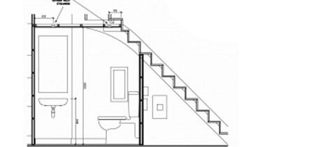 Toilet Under Stairs Understairs Toilet Wc   Under Stair Toilet Design   Toilet Separate   Small   Powder Room   Down   Minimalist