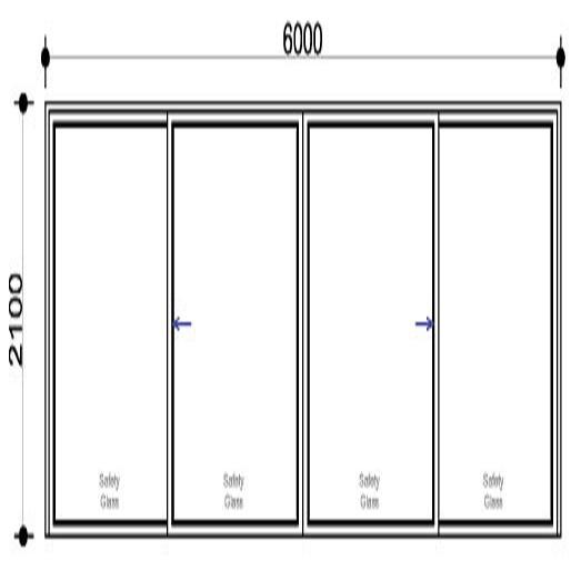 sd6021 oxxo aluminium sliding door