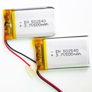 Li-Po Battery 3.7V 500mah