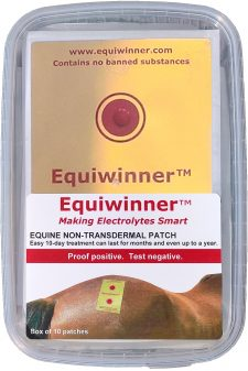 Box of 10 Equiwinner Patches