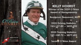Kelly Hoerdt wins 2020 O'Brien Award of Horsemanship