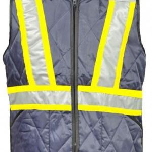 Veste de travail isolée avec bandes réfléchissantes - HV037
