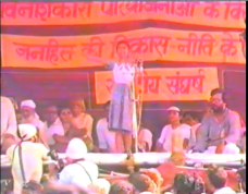 Child addresses Harsud Rally