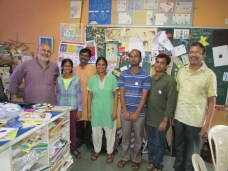 Navin Suresh and we visited the Toys from Trash team at IUCAA.